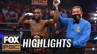 Frank Martin gets impressive seventh-round KO vs Jerry Perez | HIGHLIGHTS | PBC ON FOX