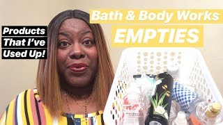 EMPTIES: Products That I've Used Up In April!   BATH & BODY WORKS