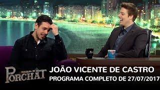 Mix Palestras | João Vicente no Programa do Porchat