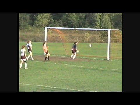 JV Soccer Goalie Watches Ball Cross the Goal Line  9-15-04