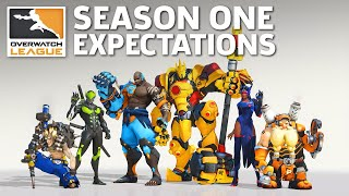 Overwatch League: What To Expect From Season One