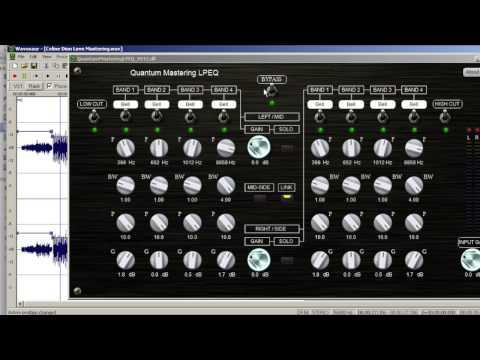 Tutoriel de Mastering utilisant Quantum-Music LPEQ et Slate Digital FG-X