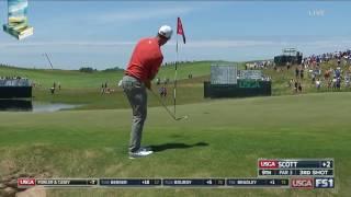 Adam Scott's Golf Shot Highlights 2017 US Open USGA Erin Hills
