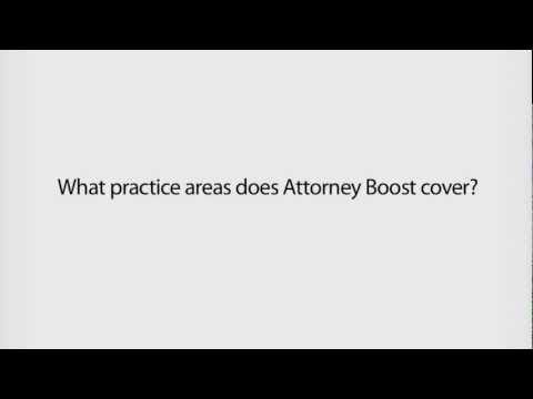 Legal Leads from Attorney Boost