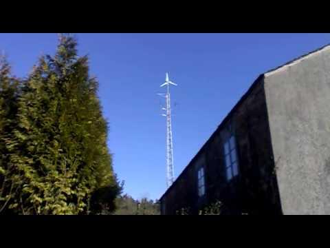 Anelion small wind turbine SW3.5-GT (Lugo, Galicia, Spain)