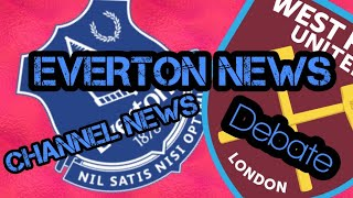 BREAKING NEWS EVERTON NEWS AND CHANNEL NEWS VIDEO