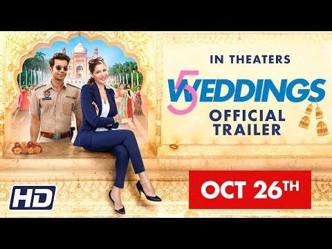 '5 Weddings' International Trailer - Nargis Fakhri - Rajkummar Rao - Bo Derek - Candy Clark