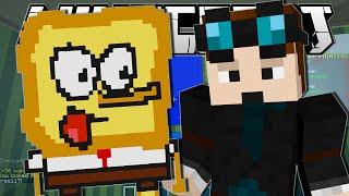 Minecraft   SPONGEBOB THE TOAST!!   Pixel Painters Minigame