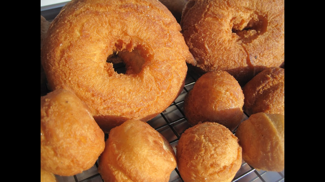 How To Make Homemade Cake Donuts