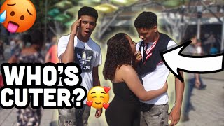 Who's Cuter Me Or My Brother?👀🥰*She Wants Me*(Public Interview)