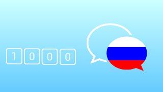 1000 câu tiếng Nga giao tiếp hằng ngày thông dụng nhất - Learn Russian Phrase - Russian Conversation