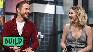 "Derek Hough & Julianne Hough Talk ""Holidays with the Houghs,"" Their NBC Special"