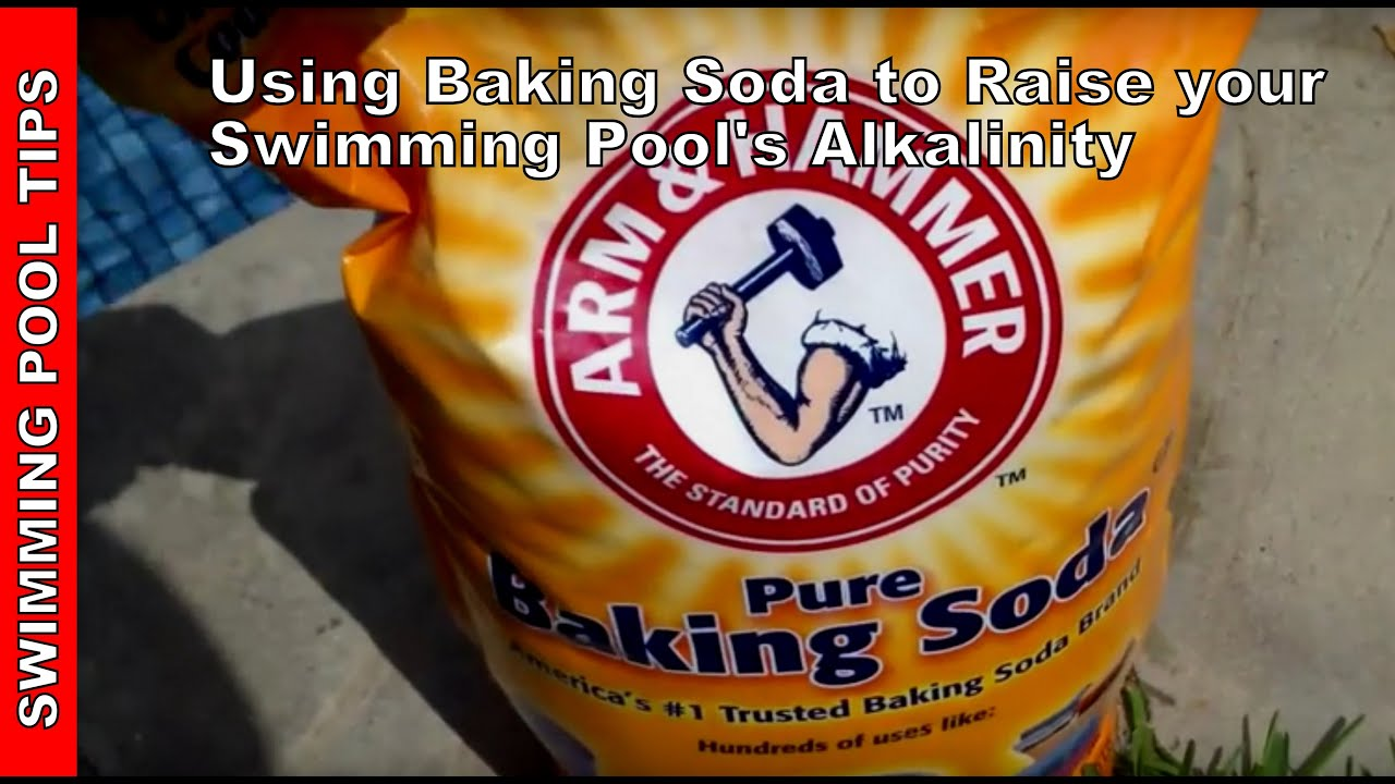 using baking soda to raise your swimming pool 39 s alkalinity youtube. Black Bedroom Furniture Sets. Home Design Ideas