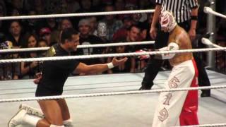 Rey Mysterio vs. Alberto Del Rio - Salt Lake City