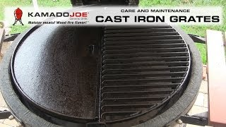 Cast Iron Care & Maintenance