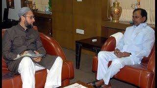 AIMIM chief Asaduddin Owaisi to meet CM KCR over NRC..