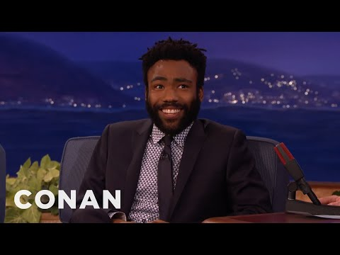 """Donald Glover's On-Set """"Martian"""" Accident  - CONAN on TBS"""