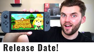 Animal Crossing Switch - Release Date Clues