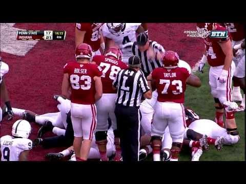 2013 Penn State at Indiana Football Highlights