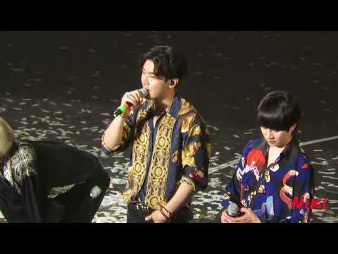 180331 SUPER SHOW 7 in TAIPEI  -  ending talk  最後感言
