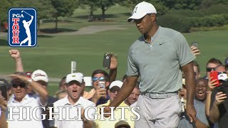 Tiger Woods' highlights   Round 2   TOUR Championship 2018