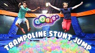 Trampoline Stunt Jump! | Official Oonies