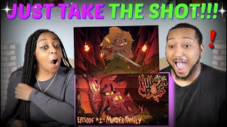 "Vivziepop ""HELLUVA BOSS - Murder Family S1: Episode 1"" REACTION!!!"