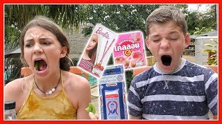 KIDS TRY CANDY FROM THAILAND | We Are The Davises