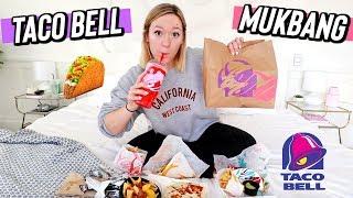 my first taco bell mukbang! vlogmas day 12