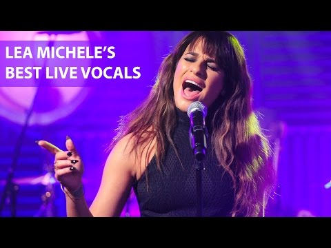 Lea Michele's Best Live Vocals