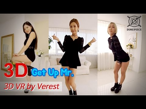 [3D 360 VR 60fps] Dimepiece's 'Get up Mr.' (Verest) 360 VR