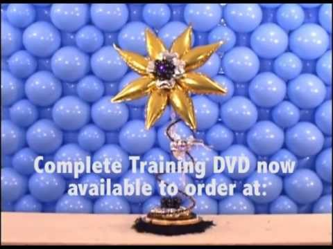 Balloon training video - Centrepieces with Style