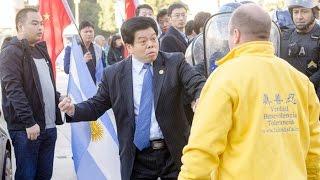 Côn đồ lộng hành trong chuyến thăm Argentina của Tập Cận Bình