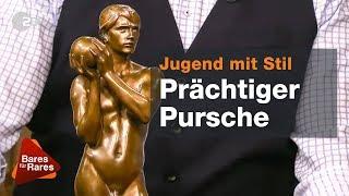 Güldener Jüngling verzückt Händlerründe bei Bares für Rares vom 25.07.2019   ZDF