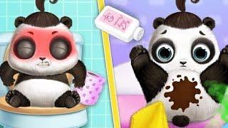 Fun Animal Care & Learn Colors Games - Panda Lu Baby Bear Care 2 Hair Salon -  #Çizgifilm TutoTOONS