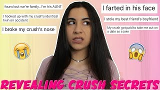 Revealing Your Embarrassing Crush Stories (yikes!) | Just Sharon