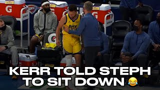 Stephen Curry Wanted To Set The 3PT Record But Steve Kerr Wouldn't Let Him Back In