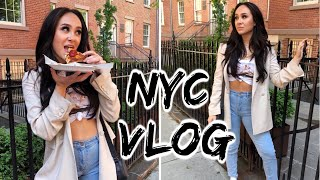NYC VLOG // harassed, subway experience, shopping haul, expensive food
