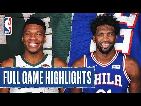 BUCKS at 76ERS | FULL GAME HIGHLIGHTS | December 25, 2019