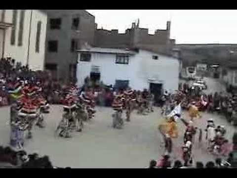 Negritos: Coreografía despedida, parte 3. 2008. Llata, Huamalíes, Huánuco.