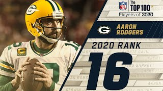 #16: Aaron Rodgers (QB, Packers) | Top 100 NFL Players of 2020