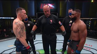 Colby Covington vs Tyron Woodley HIGHLIGHTS HD [UFC: Fight Night]