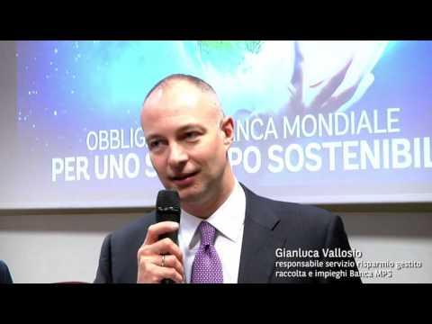 Mps Colloca l'Obbligazione Banca Mondiale Tasso Fisso - Intervista a GianlucaVallosio