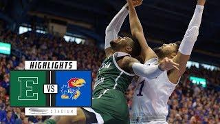 Eastern Michigan vs. No. 5 Kansas Basketball Highlights (2018-19) | Stadium