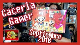 Caceria Gamer Septiembre 2018 | Cereal Super Mario