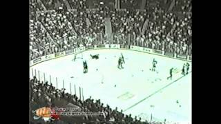 April 3, 1999 Scott Parker vs Jeremy Stevenson Tom Askey vs Marc Denis and Bruce Richardson vs Rastislov Pavlikovsky AHL