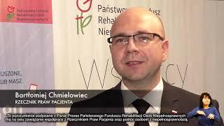 Miniatura: Porozumienie Rzecznika Praw Pacjenta i p.o. Prezesa Zarządu PFRON