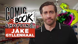 Jake Gyllenhaal Talks Spider-Man: Far From Home While Going Comic Book Shopping
