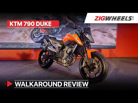 KTM 790 Duke India Launch Walkaround Review | Exhaust Sound, Price, Specs & More