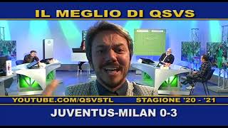 QSVS - I GOL DI JUVENTUS - MILAN 0-3  - TELELOMBARDIA / TOP CALCIO 24